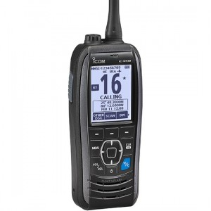 Icom M93D Handheld VHF radio with DSC and GPS