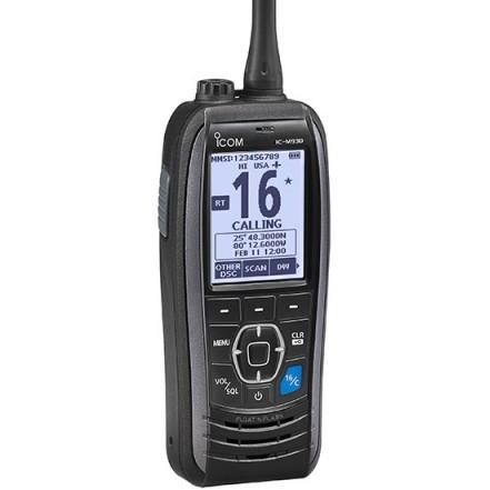 Icom M93D Handheld VHF radio with DSC and GPS