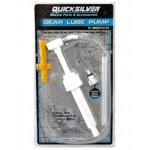 Quicksilver Gear Oil Pump For Quart & Litre Bottles