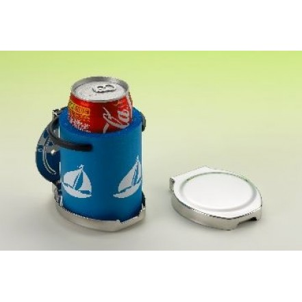 C Quip Folding Drinks Holder Stainless Steel