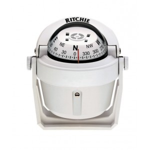 Ritchie Compass B51 Explorer White Bracket Mount