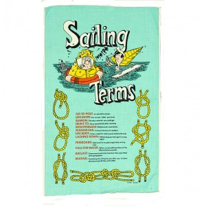 Nauticalia Galley Cloth Sailing Terms