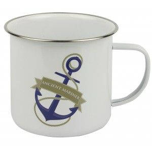 Traditional Tin Mug - Ancient Mariner