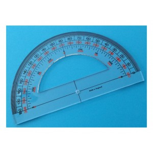 "Protractor 6"" (150mm) Semi Circular"