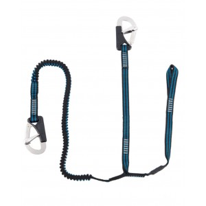 2 Hook Elasticated Safety Line with Cow Hitch