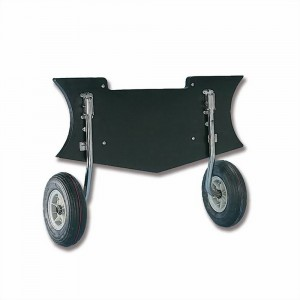 Trem Heavy Duty Dinghy Launching Wheels