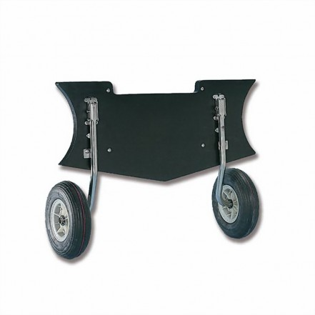 Trem Heavy Duty Dinghy Launching Wheels