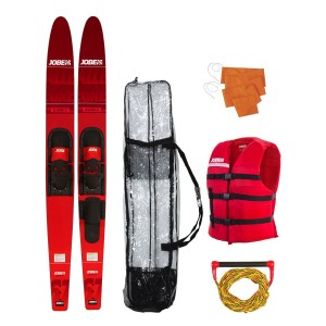 Jobe Allegre Combo Waterskis Package Red