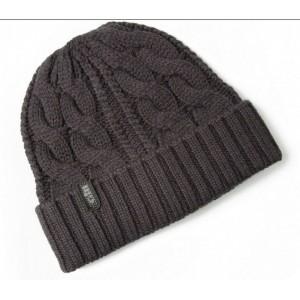 Gill Cable Knit Beanie Graphite