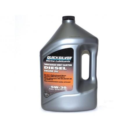 Quicksilver Diesel Oil 5W30 Synthetic 4 Litre