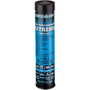 Quicksilver Extreme Grease Gun Tube 3oz