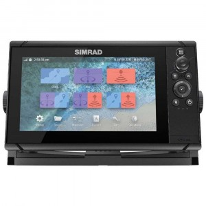 Simrad Cruise 9 Plotter/Sounder with 83/200 Transom TDX