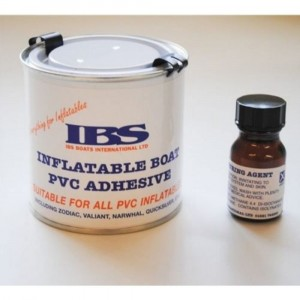 IBS Adhesives for PVC and Hypalon Boat Repairs