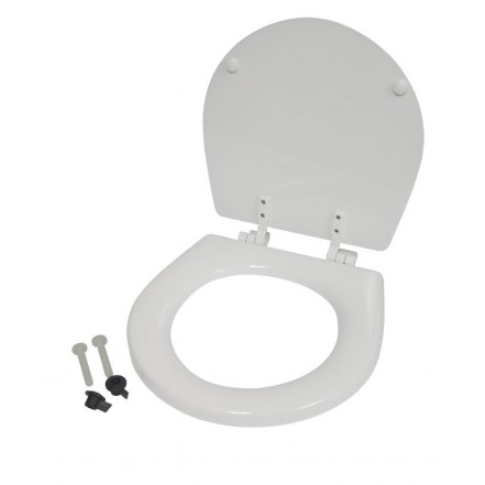 Seat and Lid Assembly For Jabsco Compact Toilet