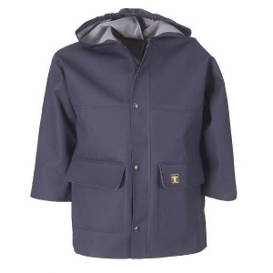 Guy Cotten Children's Derby Oilskin Jacket Navy