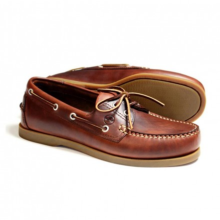 Orca Bay Creek Men's Deck Shoe Saddle Brown