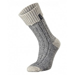 Holebrook Brommo Socks Grey/White