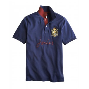 Joules Kingsfield Polo Shirt Navy