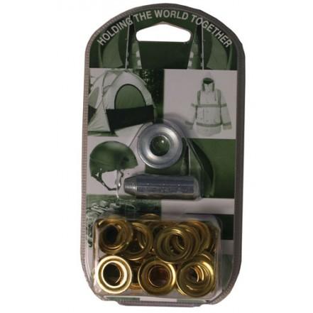Solent Leisure Brass Grommet Kits