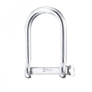 Wichard Wide D Shackle Stainless Steel