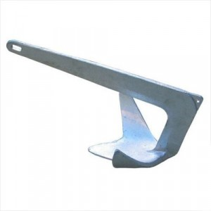 Waveline Bruce Type Galvanised Anchor