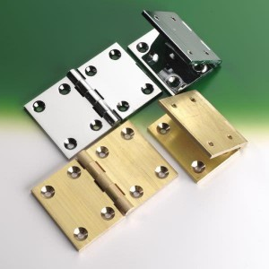 Aquafax Brass Backflap Hinges Self Colour