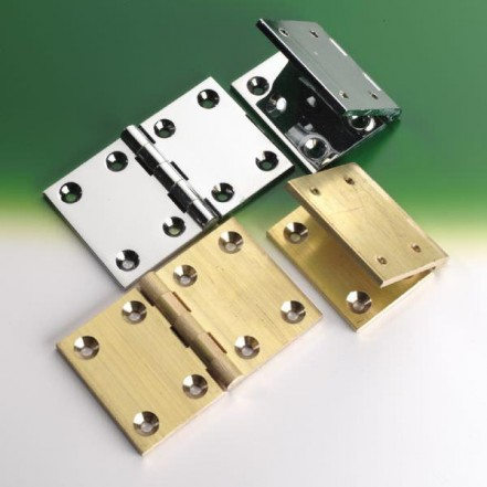 Brass Backflap Hinges Self Colour