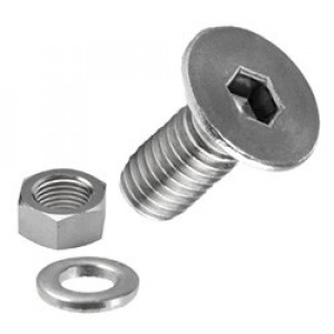 Holt Marine Allen Counterunk Machine Screws Stainless Steel Pk2