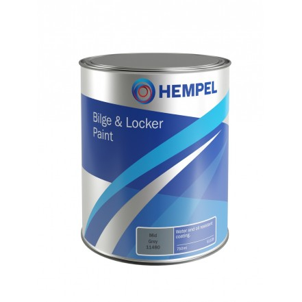 Hempel Bilge & Locker Paint 750ml