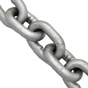 Waveline Calibrated Galvanised Chain - per Metre