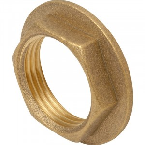 Aquafax Flanged Back Nut Brass BSP