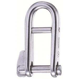 Wichard Key Pin Captive Shackle with Bar