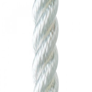 Waveline Anchor Warp 3-Strand Polyester White 30 Metre Drum