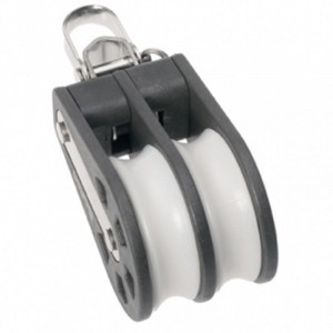 Barton Plain Block Double Reverse Shackle