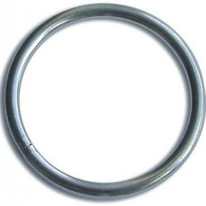 Waveline Ring Stainless Steel