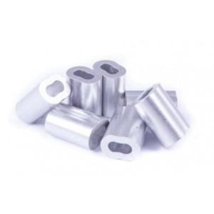 Seasure Nicopress Ferrule ZPC for Stainless Steel Wire