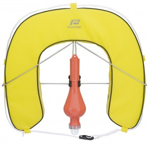 Plastimo Horseshoe Lifebuoy Set With Fixed Light