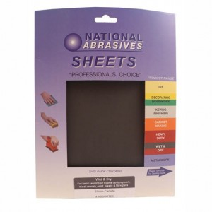 National Abrasives Wet And Dry Sheet 280mm x 230mm
