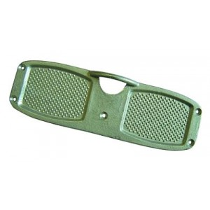 Waveline Outboard Transom Pad Anodised Alloy