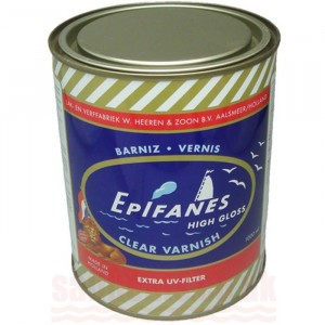 Epifanes Clear Varnish Gloss Finish