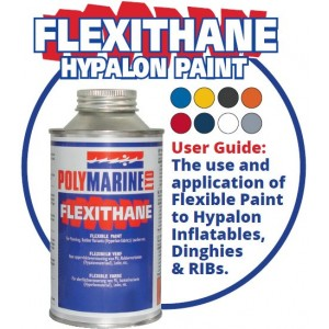 Polymarine Flexithane Hypalon Paint 500 mls