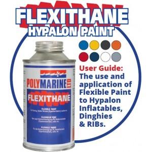 Polymarine Flexithane Hypalon Paint 500 mls