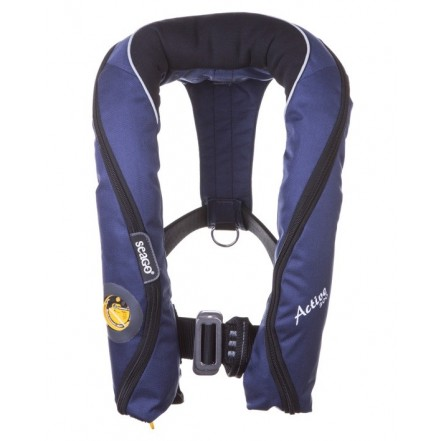 Seago Active 190 Pro Lifejacket With Spray Hood & Light