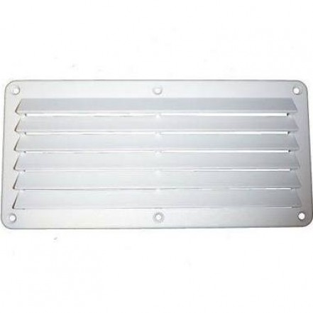 C Quip Louvered Vent White
