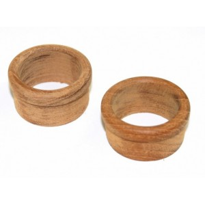 C Quip Teak Finger Ring