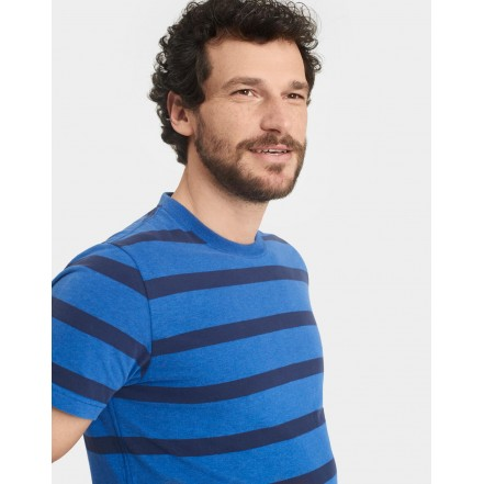 Joules T Shirt Boathouse Blue