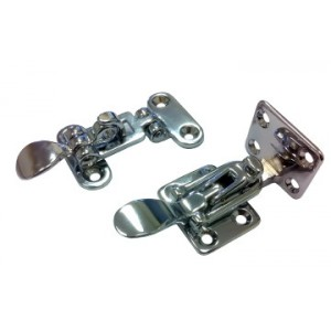 Hold Down Toggle Fastener Chromed Brass