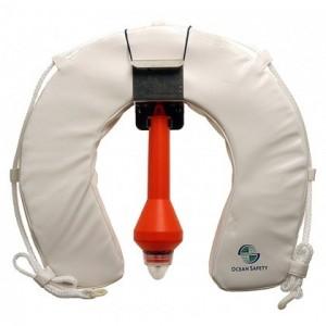 Ocean Safety Lifebuoy Horseshoe Set With Apollo Light