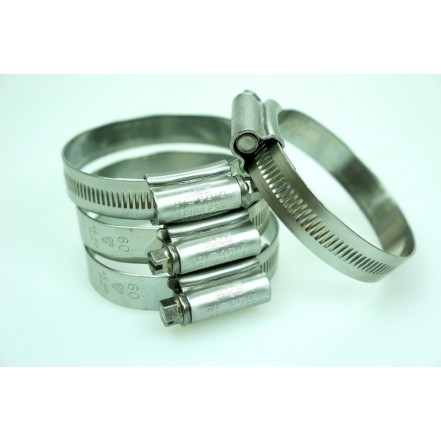 JCS Hi-Grip Hose Clips Stainless Steel