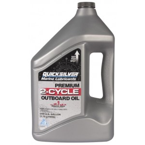 Quicksilver Premium TC-W3 2-Stroke Oil